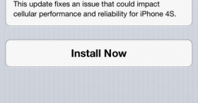 iPhone 4S รีบ Update iOS 6.1.1 กันนะ [Gadget]