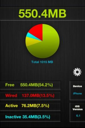 แอพช่วยเคลียร์ Memory สำหรับ iOS [App]