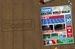 Score! World Goals เกมมันๆ สำหรับคนรักฟุตบอล [Mobile Game]