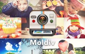 Moldiv แอพแต่งรูปเก๋ๆ ที่มากับของเล่นเพียบ