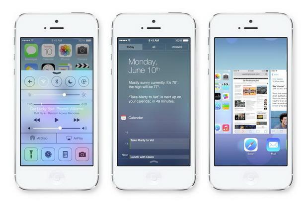 มีอะไรใหม่ใน iOS7 (Apple)