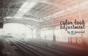 วิธีการปรับโทนสีของภาพด้วยแอพ Snapseed