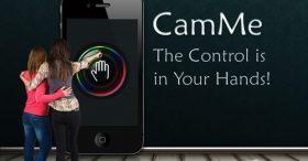 กดชัตเตอร์โดยไม่ต้องใช้นิ้วแตะจอกับ CamMe