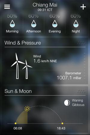 เพราะอากาศเปลี่ยนแปลงบ่อย มาตรวจสอบสภาพอากาศด้วย Yahoo! Weather