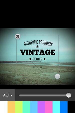 App แต่งภาพสำหรับคอ Vintage