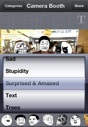 สนุกสุดติ่งด้วย App สร้างหน้าสุดฮา