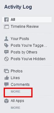 วิธีลบประวัติการค้นหาของคุณใน Facebook
