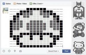วิธีโพสต์สเตตัสเป็น Emotion หรือ Symbol ใน Facebook