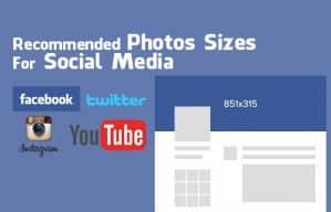 รูปขนาดต่างๆ ที่ใช้ใน facebook, YouTube, instagram