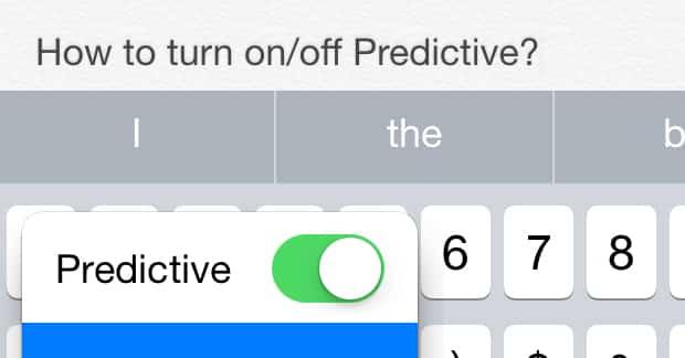 วิธีการ เปิด/ปิด ตัวช่วยเดาภาษาสำหรับ iOS8