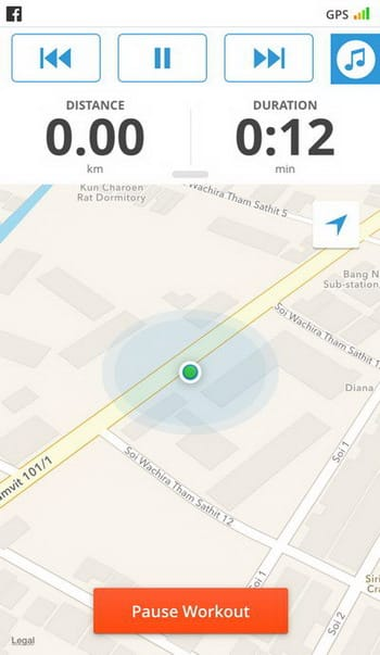 สร้างการวิ่งให้สนุกสนานมากขึ้นด้วย Map My Walk