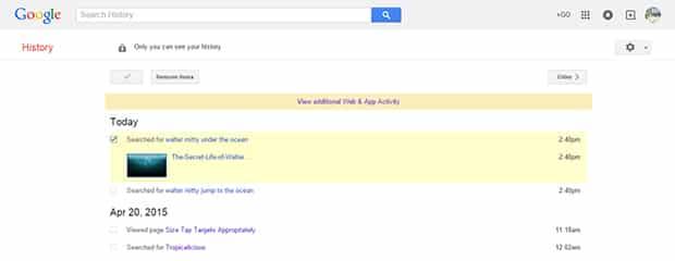 วิธีลบข้อมูลการค้นหาของคุณใน Google